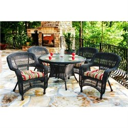Tortuga Portside 5 Piece Patio Dining Set