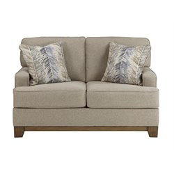Ashley Hillsway Loveseat in Pebble