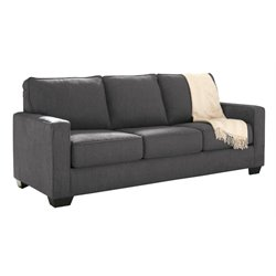 Ashley Furniture Zeb Sleeper Sofa in Charcoal