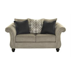 Ashley Jonette Loveseat in Stone