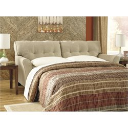 Ashley Laryn Queen Sleeper Sofa Bed in Khaki
