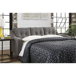 Ashley Brindon Queen Sleeper Sofa Bed in Charcoal
