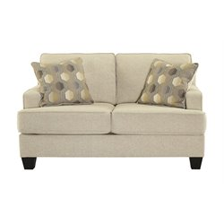 Ashley Brielyn Loveseat in Linen