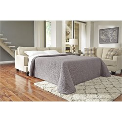 Ashley Brielyn Queen Sleeper Sofa in Linen