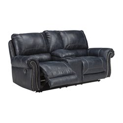 Ashley Furniture Milhaven Double Reclining Loveseat with Console