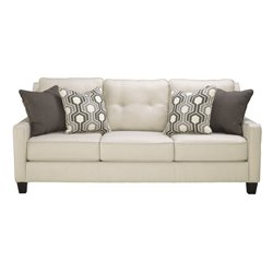Ashley Guillerno Sofa in Alabaster