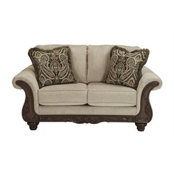Ashley Laytonsville Loveseat in Pebble