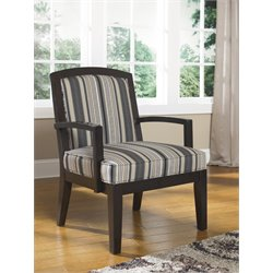 Ashley Yvette Showood Accent Chair in Black