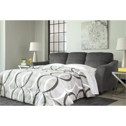 Ashley Braxlin Queen Sofa Bed in Charcoal