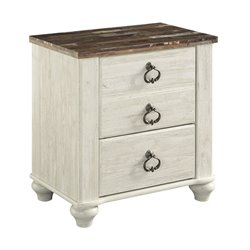 Ashley Willowton 2 Drawer Night Stand