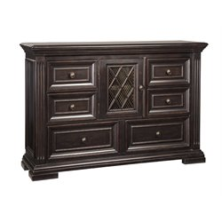 Ashley Willenburg 6 Drawer Dresser in Dark Brown