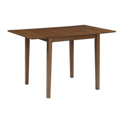 Ashley Joveen Drop Leaf Dining Table in Light Brown