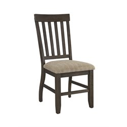 Ashley Dresbar Upholstered Dining Chair in Cream