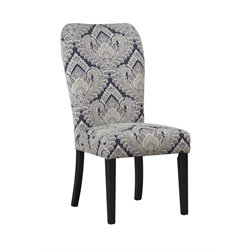 Ashley Sharlowe Upholstered Dining Chair in Indigo