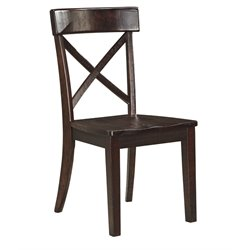 Ashley Gerlane Dining Chair in Dark Brown