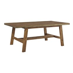Ashley Dondie Dining Table in Warm Brown