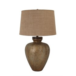 Ashley Shaunelle Glass Table Lamp in Antique Gold