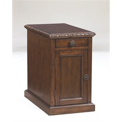 Ashley Laflorn End Table in Dark Brown