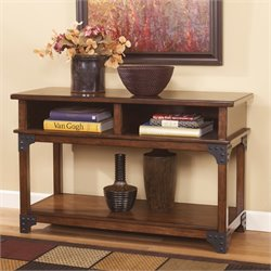 Ashley Murphy Console Console Table in Medium Brown