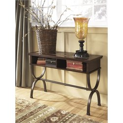 Ashley Zander Console Console Table in Medium Brown