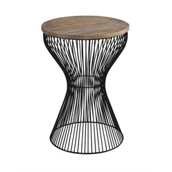 Ashley Marxim Round End Table in Black