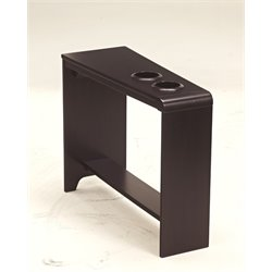 Ashley Carlyle End Table in Almost Black