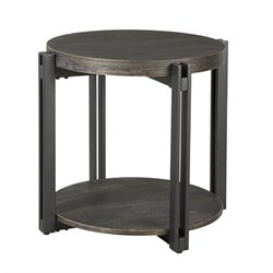 Ashley Winnieconi Round End Table in Black