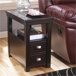 Ashley Hatsuko End Table in Dark Brown