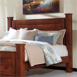 Ashley Brittberg Poster Headboard Panel in Reddish Brown