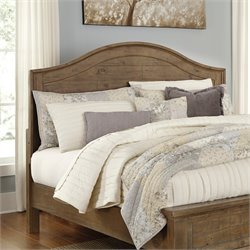 Ashley Trishley Panel Headboard in Light Brown