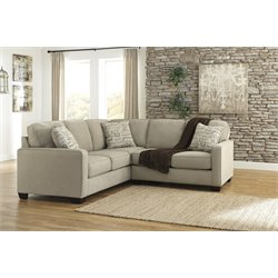 Ashley Alenya Sectional in Quartz