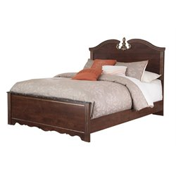Ashley Naralyn Queen Panel Bed in Reddish Brown