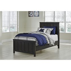 Ashley Jaysom Panel Bed in Black