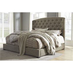 Ashley Gerlane Sleigh Bed in Graphite