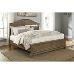 Ashley Trishley Panel Bed in Light Brown
