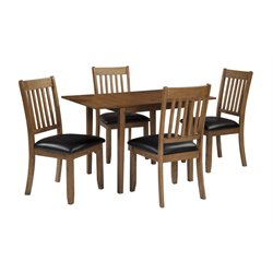 Ashley Joveen Dining Set in Light Brown