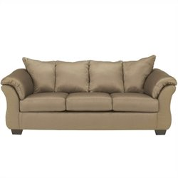 Signature Design by Ashley Furniture Darcy Sofa in Mocha