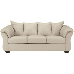 Signature Design by Ashley Furniture Darcy Sofa in Stone
