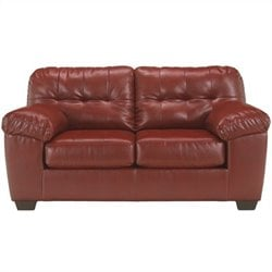 Ashley Alliston Leather Loveseat