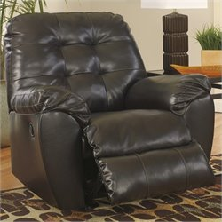 Ashley Alliston Leather Rocker Recliner