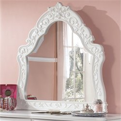 Ashley Furniture Exquisite French Style Bedroom Mirror in White
