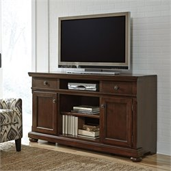 Ashley Porter TV Stand in Brown II