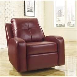 Ashley Furniture Mannix DuraBlend Swivel Glider Recliner