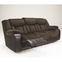 Tafton Faux Leather Reclining Sofa