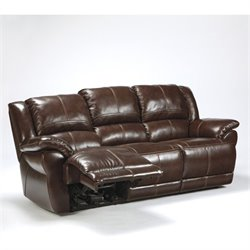 Lenrois leather Reclining Sofa