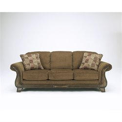 Signature Design by Ashley Furniture Montgomery Fabric Sofa in Mocha