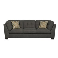 Delta City Fabric Sofa with Pillows