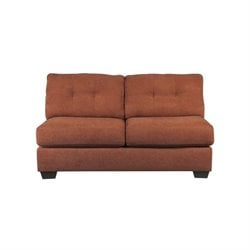Delta City Armless Loveseat