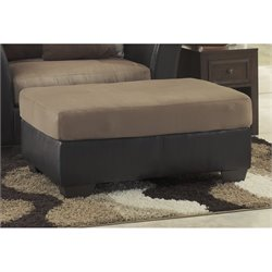 Ashley Masoli Leather Oversized Accent Ottoman