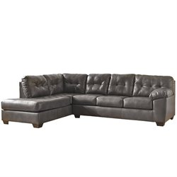 Ashley Alliston Chaise Sectional in Gray